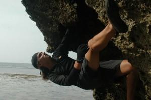 Michał Apollo naKenya Coast, fot.Marek Żołądek