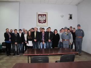 Uczestnicy Powiatowego Konkursu Historycznego - fot.Starostwo Powiatowe wGorlicach