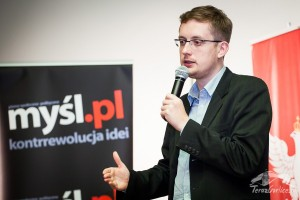 Robert Winnicki - kandydat Ruchu Narodowego doParlamentu Europejskiego