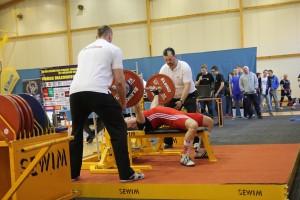 Kamil Świątek walczy obrązowy medal. Nasztandze 132,5 kg