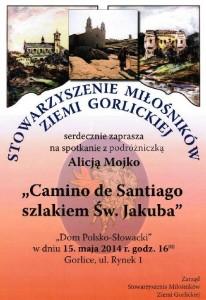 Alicja Mojko Plakat Camino