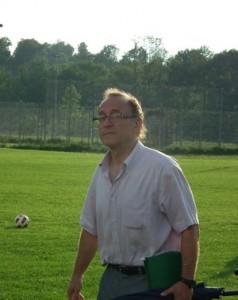 Trener Janusz Kapuściński - fot.LKS Wójtowa
