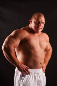 Strongman Tomasz Kowal