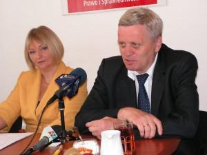 Poseł Barbara Bartuś iSenator Stanisław Kogut - PiS
