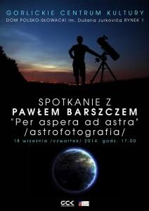 plakat ASTROFOTOGRAFIA s
