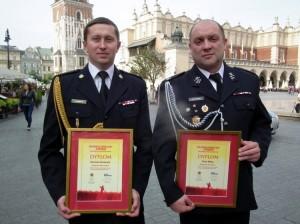 Strażacy Dariusz Surmacz iPiotr Mika - fot.ZOSPGorlice.cba.pl