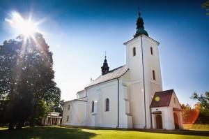 Zabytkowy kościół wLipinkach - fot.wiktorbubniak.pl