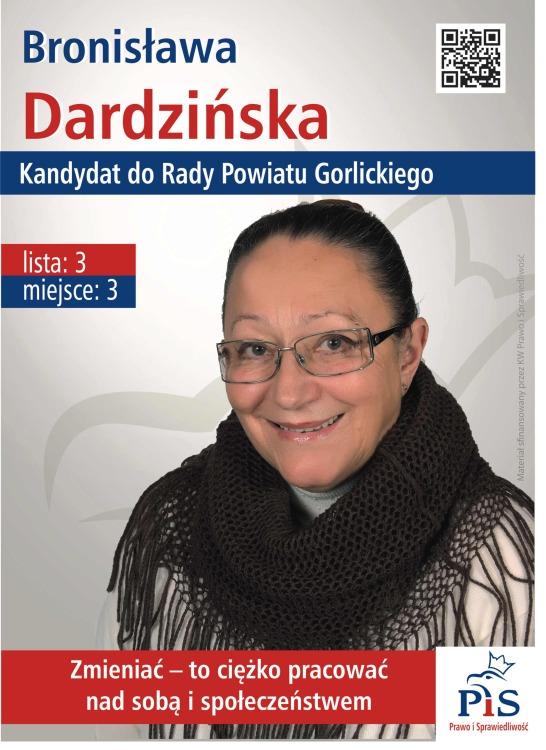 plakat Dardzinska