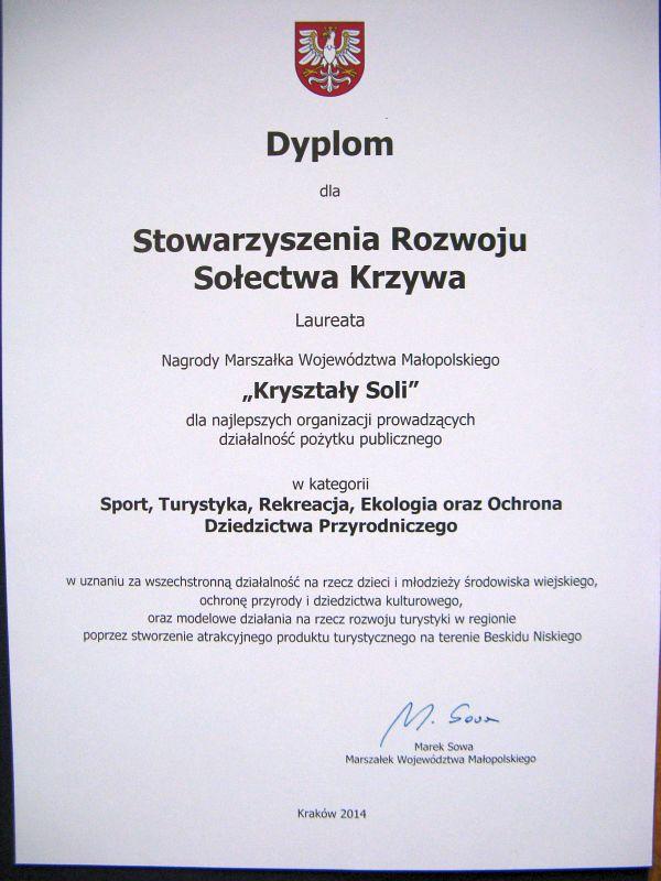 Dyplom Krzywa