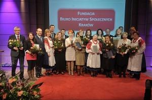 Kryształy Soli 2014 - laureaci nagrody - fot.Malopolskie.pl