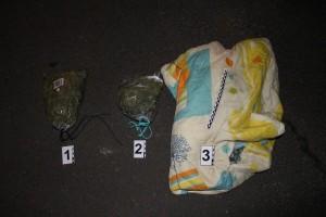 Zabezpieczona marihuana - fot.Komenda Powiatowa Policji wGorlicach