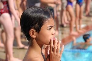 plywanie basen dzieci