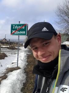 Rafał Skop wkracza doZdyni - fot.FB