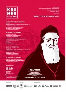 Kromer Festival Plakat