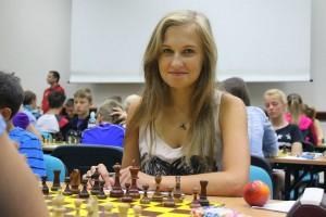 Magdalena Ziemba totakże znakomita szachistka - fot.Facebook