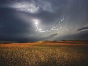 burza piorun