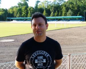 Nowy trener GKS Glinik Gorlice - Robert Cionek (fot.www.GKSGlinik.pl)