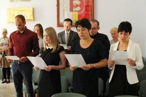 Nauczyciele mianowani podczas składania ślubowania