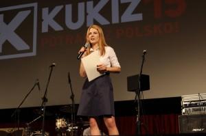 Elżbieta Borowska - lider listy KW Kukiz'15
